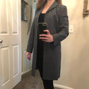 GAP Grey Trench Coat/Raincoat